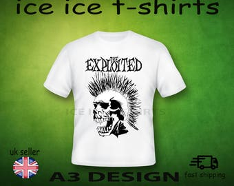 The Exploited - Punk new wave    Adult white  - T-shirt brand new