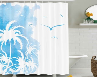 Hıgh Quality 3D Printed Shower Curtain Print Waterproof and Stain - proof High Quality Turkey Design Express Shipping Colorful Design