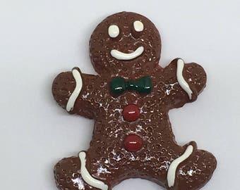 Gingerbread Man Needle Minder