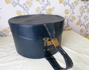 Vintage French Hat Box