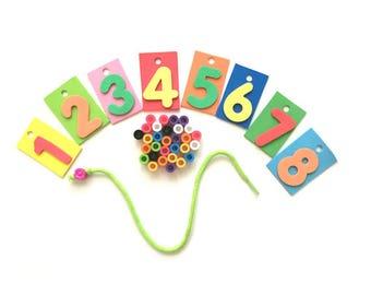 Montessori Math Activities, Montessori Activities for Preschoolers, Preschool Busy Bag, Preschool Learning, Math Activities for Preschoolers