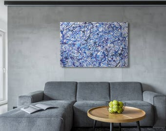 """36"""" x 48"""" X-large abstract painting"""
