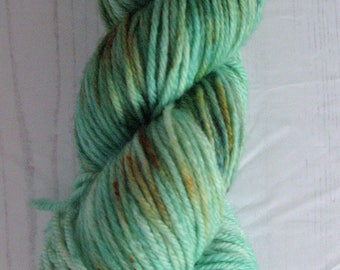 """DK """" Faux Forest """" hand dyed yarn."""