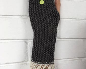 handmade elegant  gloves without fingers