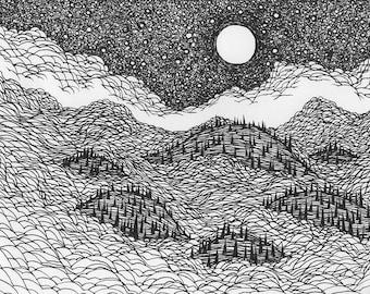"""Lucas Allen Cook """"Floating Hills"""""""
