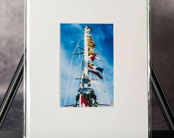 Matted Print: Summerwind