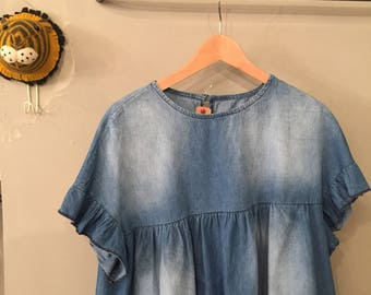 Jeans blouse special dress