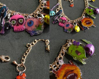"Collection ""monsters minions"" lovely bracelet"