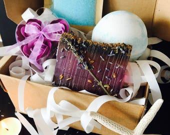 Aromatherapy Bath Box gift set