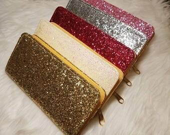 Glitter Wallets    Woman's Gift