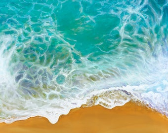 Giclee Print - Waves - Beach - Ocean