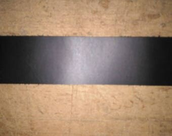 "Black Leather Straps 1/2"" X 37""- 96"" Length"