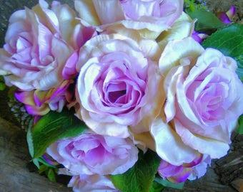 Bridesmaid Bride Flowergirl Wedding Bouquet
