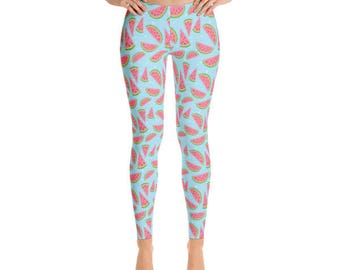 Watermelon Leggings - Womens Leggings - Fancee Pants Co
