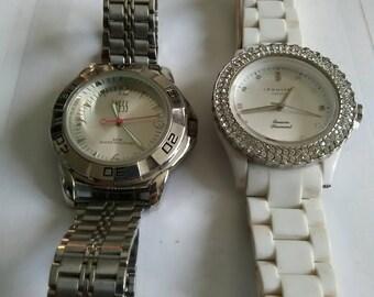 Yess Watch And Infinity London Diamond Watch