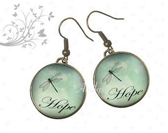 Hope Dragonfly earrings.