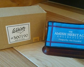 Amish Heritage Collection designed by Ann. M. Dezendorf  SIGNAGE