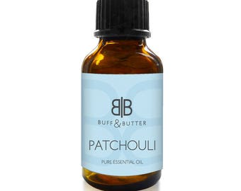 PATCHOULI Essential Oil 100% Pure Natural Fragrance Aromatherapy - 1ml Tester Vial, 10ml, 30ml, 50ml, 100ml Bottle