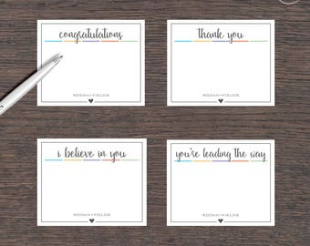 "Rodan and Fields Note Cards 3.75""x3"" Digital Files Bundle 