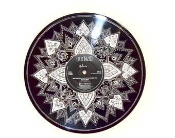 Vinyl Design, Art, Home Decor, Hand-drawn, Mandala,
