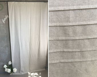 Window Panels Custom Curtains Home Decor Panel Home Living Decor Curtains  Sheer Curtains Beige Panel Hemp