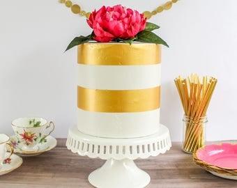 Stipe Cake- Fake cake, prop cake, party decor