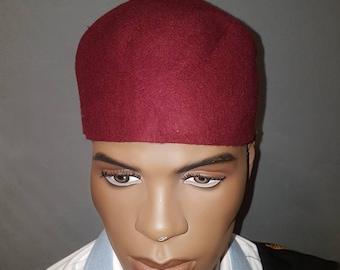 Igbo Traditional Cap Brown