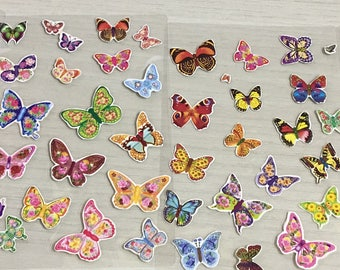 Handmade Butterfly stickers