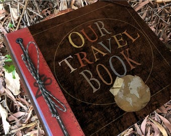 Our Travel Adventure Book Handmade and Personalized