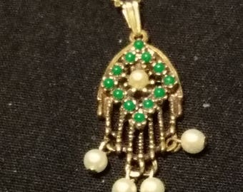 Tassel Indian Looking Necklace Sarah Coventry