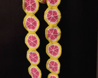 Pink Grapefruit Scarf