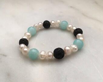 Pearl defuser bracelet