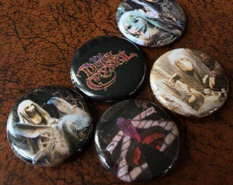"""THE DARK CRYSTAL inspired 1"""" Button/Badge Set!"""