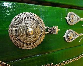Indian design Silver Pendant