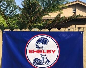 Ford Shelby sign poster vinyl banner