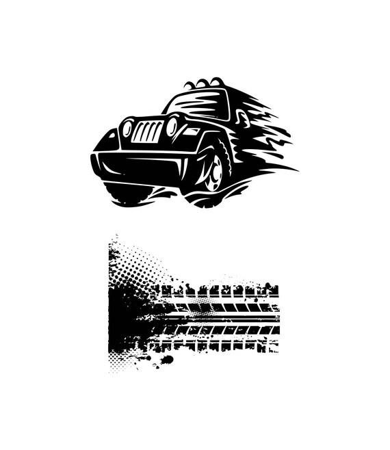 Monster Truck Svg Car Svg Jeep Svg Tire Svg Tire Tread Svg Svg