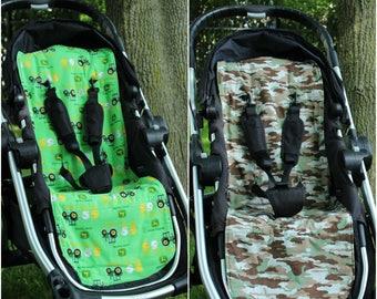 City Select Reversible Stroller/Pram Liner - Camo Print - Ready to ship!