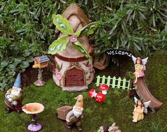 Windmill House Fairy Garden Kit - Fairy Garden Ideas, Fairy House, Fairy Garden, Elf Garden Ideas, Gnome Garden, Fairy Garden Supply