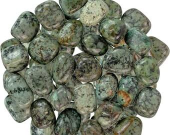 African Turquoise Tumbled Stone | Tumbled African Turquoise Stone | Healing Stone | Feng Shui | Metaphysical | Altar Stone | Grid Stone