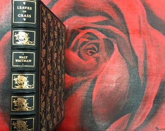 1982 Leaves of Grass by Walt Whitman Franklin Library Limited Edition