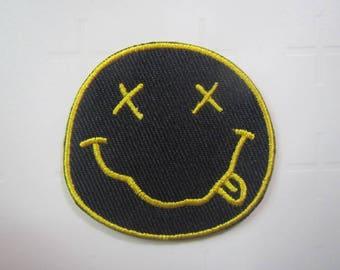 Nirvana – Band – Iron on patch.