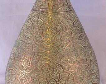 Vintage Asian / Arabic Large Copper Vase