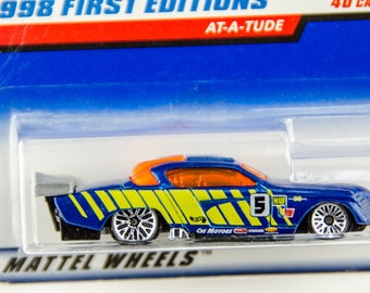 Hot Wheels 1998 First Editions AT-A-TUDE #34 of 40 1/64 Diecast
