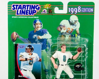 Starting Lineup 1998 NFL Mark Brunell Action Figure Jacksonville Jaguars