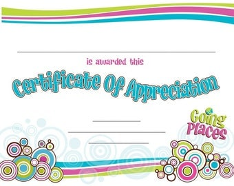 Junior to cadette certificate girl scouts certificate of appreciation yadclub Image collections