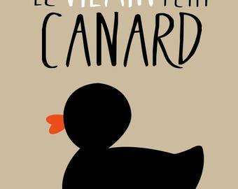 """Affiche """" Le vilain petit canard """""""