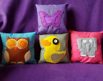 Cute animals small scented cushions