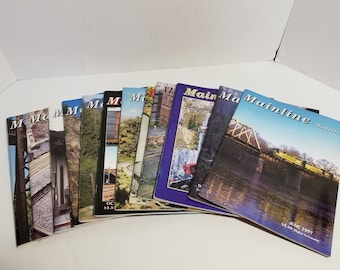 Vintage Mainline Modeler Train Magazine Set Complete Year 1997 12 Issues