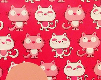 Cats Gift Wrapping Paper Kitten Kitty
