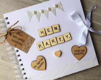 Hen Party Scrapbook